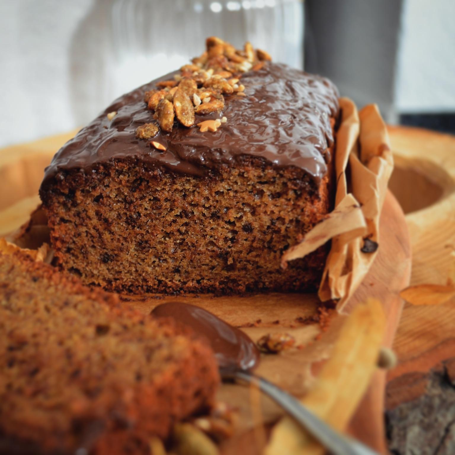 Saftiger Herbstkuchen mit Schokolae